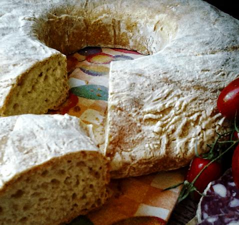 Ciambella di pane alle patate
