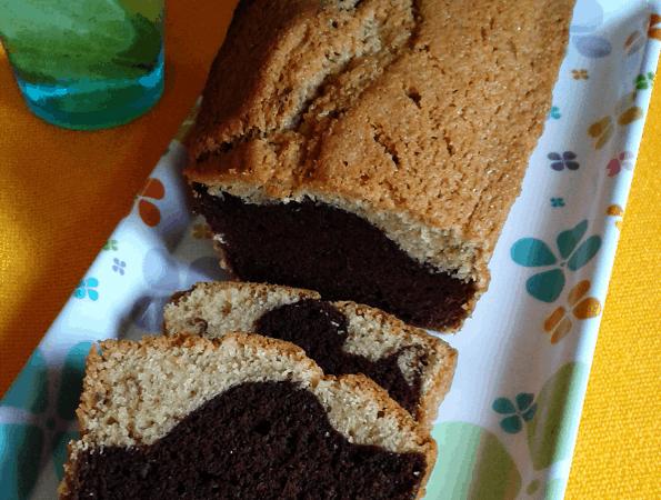 Plumcake alla nocciola del Piemonte e cioccolato fondente