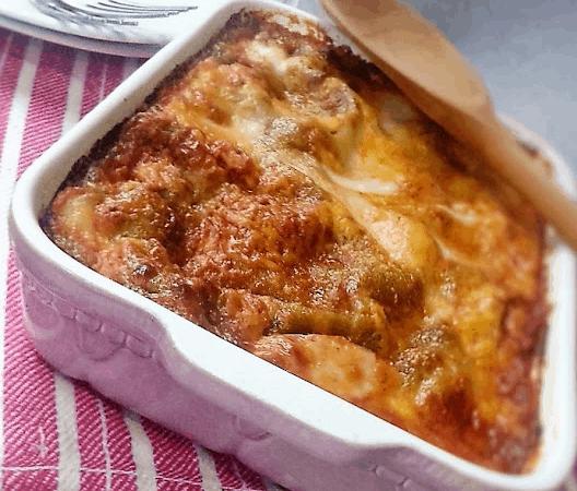 Lasagna verde vegetariana