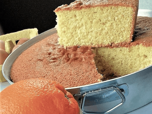 Torta casalinga all'arancia