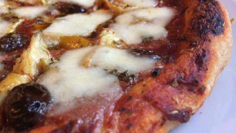 Pizza fatta in casa con Farina Petra 3